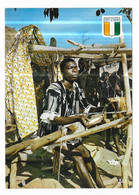 Cote D' Ivoire Tisserand Près De Bouaké - Costa De Marfil