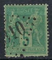 """FRANCE """"Sage"""":  Jour De L'An, """"obl. GC 4310"""" - 1876-1898 Sage (Tipo II)"""