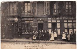 42 FIRMINY **ROBIN, Sellerie, Bourrellerie, Café, 14 Rue Verdié** - Firminy