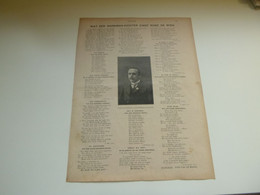 """Origineel Knipsel ( 3906 ) Uit Tijdschrift """" Ons Volk """"  1920 :  Werkman - Dichter  Fons Vandemaele Erembodegem Aalst - Zonder Classificatie"""
