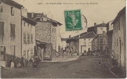 43 ST-PAULIEN PLACE DU FORAIL HAUTE-LOIRE - Altri Comuni