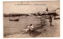 Cros De Cagnes , Pécheurs à La Ligne - Cagnes-sur-Mer