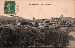 13 / AUBAGNE / VUE GENERALE / 1924 - Aubagne