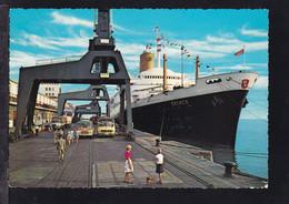"TS ""Bremen"" An Der Columbuskaje Bremerhaven - Steamers"
