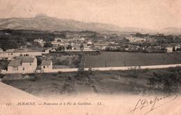 13 / AUBAGNE / PANORAMA ET LE PIC DE GARLABAN /  PRECURSEUR LL151 - Aubagne