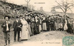 87. CPA. - En Limousin - Corréze -  Une Noce à La Campagne - Violoneux - Saint Hilaire - 1905 - Scan Du Verso - - Other