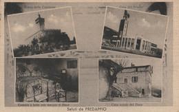 CARTOLINA VIAGGIATA PREDAPPIO -CASA NATALE DEL DUCE 1953 -EMILIA (HC1194 - Otras Ciudades