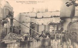 51 LES EMEUTES EN CHAMPAGNE AY LA MAISON BISSINGER - Ay En Champagne