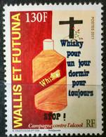 WALLIS & FUTUNA 2011 STAMP ON ALCOOL WHISKY - Unused Stamps