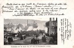 SAINT-PIERRE-et-MIQUELON - Incendie De L'Église - Nuit Du 1er Au 2 Novembre 1902 - Saint-Pierre-et-Miquelon