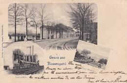 THIONVILLE - BEAUREGARD -  MOSELLE - (57) -  CPA MULTIVUES - 1899. - Thionville