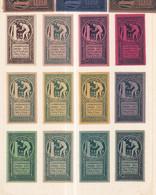 Austria German Österreich Poster Stamps Vignette Empire Group GUTTEMPLER - Neufs