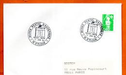 15 ST FLOUR   LA POSTE  1994 Lettre Entière N° TU 765 - Sellados Mecánicos (Publicitario)