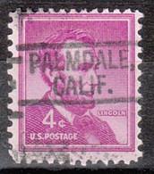 Locals USA Precancel Vorausentwertung Preo, Locals California, Palmdale 802 - Precancels