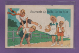 56-CPA BELLE ILE EN MER - CARTE A SYSTEME - Belle Ile En Mer