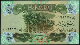 ♛ IRAQ - ¼ Dinar 1979 AH1399 {Central Bank Of Iraq} UNC P.67 - Iraq