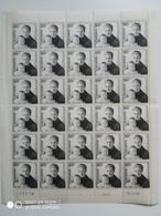 Monaco. Planche De 30 Timbres Du N° 489. Princesse Grace Et Albert. Neuf 1958. (Côte Totale Des Timbres 450€) - Unused Stamps