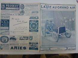 Supplément 1905 Circuit Des Ardennes Pneus Pneumatiques Michelin Hemery Gabriel Gare D'Arlon Hôtel Du Nord Dunlop - 1900 - 1949