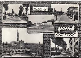 VILLACORTESE-MILANO-SALUTI DA..-MULTIVEDUTE-CARTOLINA VERA FOTO -VIAGGIATA IL 20-4-1965 - Milano (Milan)