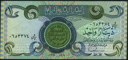 ♛ IRAQ - 1 Dinar 1984 AH1405 {Central Bank Of Iraq} AU P.69 - Iraq