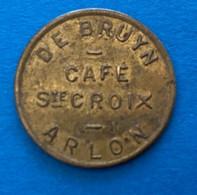 Arlon - Café Ste Croix / De Bruyn - Jeton De Café ( Province De Luxembourg ) - Altri