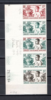 AEF   N° 230  ESSAI DE COULEUR   NON DENTELE    NEUF SANS CHARNIERE COTE ? €   GOUVERNEUR  CUREAU - Unused Stamps