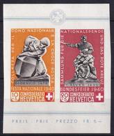 Zumstein 9-10 / Michel 370-371 - Blockauschnitt - Paar - Postfrisch/**/MNH - Used Stamps