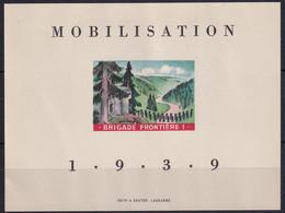 Soldatenmarke Schweiz - 1a Grenztruppen - Einerbögli - Postfrisch/**/MNH - Labels