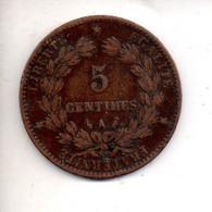 REF M6 : Monnaie Coin France 5 Centimes 1885 A Ceres - C. 5 Centimes
