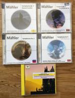 GUSTAV MAHLER - SYMPHONIES 1 - 2 - 5 - 8 - 9 - 10 - KUBELIK - HAITINK - MEHTA - OZAWA - BOEHM - Klassik