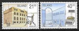 Islande 1990 N° 679/680 Neufs Europa établissements Postaux - 1990