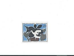 1319 A Liseré Blanc Très Prononcé Au Dessus De La Couleur Noire  Coté Yvert 2021 - Curiosità: 1960-69  Nuovi