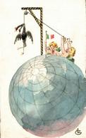 CPA - WW1 WWI Propaganda Propagande - Anti Kaiser - Dipinta A Mano, Peint à La Main - NV - PV318 - War 1914-18