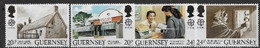 Guernesey 1990 N° 485/488 Neufs Europa établissements Postaux - 1990