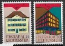 Liechtenstein 1990 N° 925/926 Neufs Europa établissements Postaux - 1990
