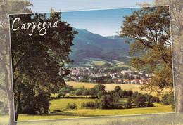 1 AK Italien * Blick Auf Den Ort Carpegna - Luftbildaufnahme * - Other Cities