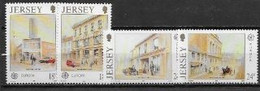 Jersey 1990 N° 502/505 Neufs Europa établissements Postaux - 1990