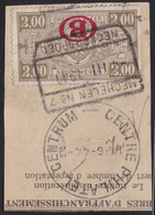 Belgie  .   OBP    .    TR 222-cu   (3 Scans)       .   O    .   Gebruikt        .   /   . Oblitéré - 1923-1941