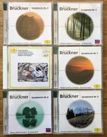 ANTON BRUCKNER - SYMPHONIES 4 - 5 - 6 - 7 - 8 - 9 - BARENBOIM - KARAJAN - SOLTI - DEUTSCHE GRAMMOPHON  - DECCA - Klassik