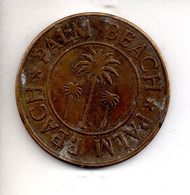 REF M6 : Monnaie Coin Jeton USA Casino Palm Beach - Unclassified