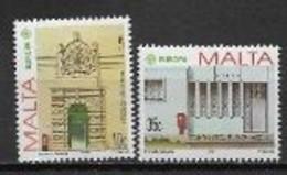 Malte 1990 N° 810/811 Neufs Europa établissements Postaux - 1990