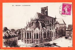 X58079 ⭐ NEVERS 58-Nièvre La Cathédrale 1920s à FALGAYRAC Avenue De La Gare Saint-Juery St Collection ROUBE 501 - Nevers
