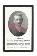D 997. SIMON-JOSEPH  MEYERS  époux De E. Tilkin - °CEREXHE-HEUSEUX 1850 / + HEUSAY (BEYNE) 1912 - Devotion Images
