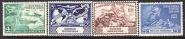 British Honduras 1949 75th Anniversary Of UPU Set Of 4, Hinged Mint, SG 172/5 (WI2) - Honduras Britannique (...-1970)
