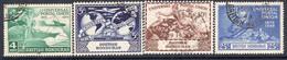 British Honduras 1949 75th Anniversary Of UPU Set Of 4, Used, SG 172/5 (WI2) - Brits-Honduras (...-1970)