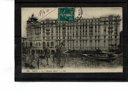 06 - NICE - Le Majestic Hôtel - 2828 - Cafés, Hoteles, Restaurantes