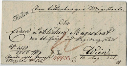 """1832, """" KOLLIN """" Sehr Klar   ,  A4621 - ...-1850 Prephilately"""