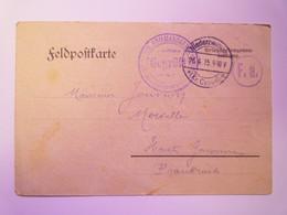 GP 2021 - 98  Kriegsgefangenenlager  NIEDERZWEHREN  -  Carte D'un Prisonnier De GUERRE 26-04-1915  XXX - 1914-18