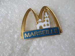 PIN'S    McDONALD'S   MARSEILLE  Email Grand Feu - McDonald's