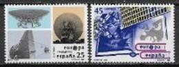 Espagne 1991 N° 2721/2722 Europa L'Europe Et L'espace - 1991